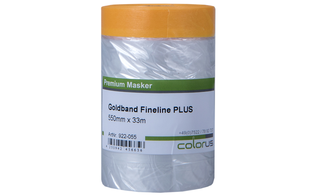Colorus Masker Tape PLUS Goldband Fineline 270cm x 16m 270cm x 16m