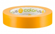 Colorus Premium Goldband Washi Tape UV 120 Klebeband 50m x 25mm 25mm
