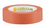 Colorus Premium Putzerband orange glatt Schutzband 33m x 30mm 30mm