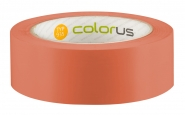 Colorus Premium Putzerband orange glatt Schutzband 33m x 38mm 38mm