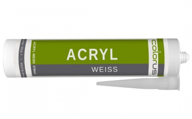 Colorus Acryl PLUS 310ml Weiß Weiß